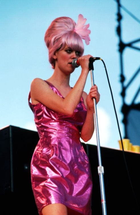 Cindy Wilson of The B-52's Source:vintagesalt via Mudwerks