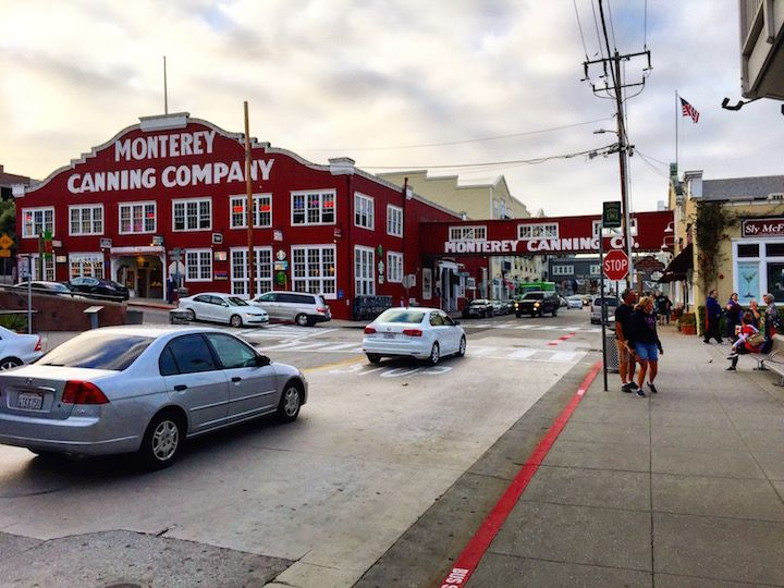 Monterey, CA  A Stroll along Cannery Row