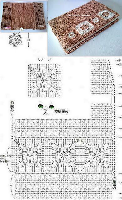 Tecendo Artes em Crochet crochet book cover tutorial!