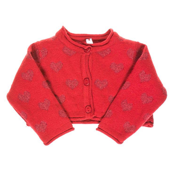 Kindo - ❤Болеро Idexe красного цвета с сердечками 176-1704. ✿Доступные цены. ✓Гарантия качества. ✖Доставка по всей Украине. Звоните ☎ 38 (095) 670-02-75