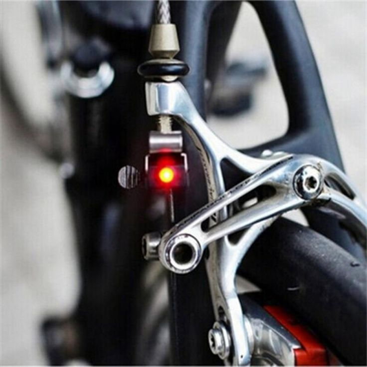 Mini Travel CR1025 Battery Wheel Spokes Bike brake Light mountain bicycle Led light Limited Real Cycling Accessories //Price: $4.95 & FREE Shipping //     #hashtag1