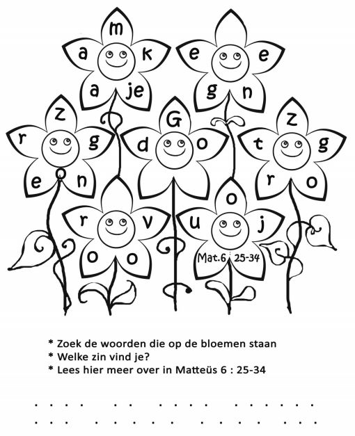 matthew 6 25 34 coloring page 260 best kinderkerk images on pinterest kids church