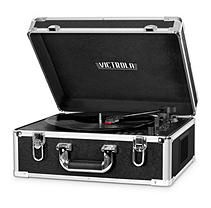 Victrola Full-size Suitcase Record Player- Black