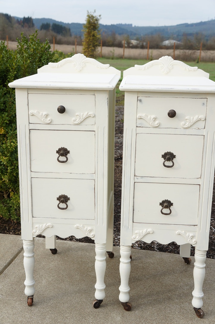 Antique Night Stands 75 Best End Tables Night Stands Images On Pinterest