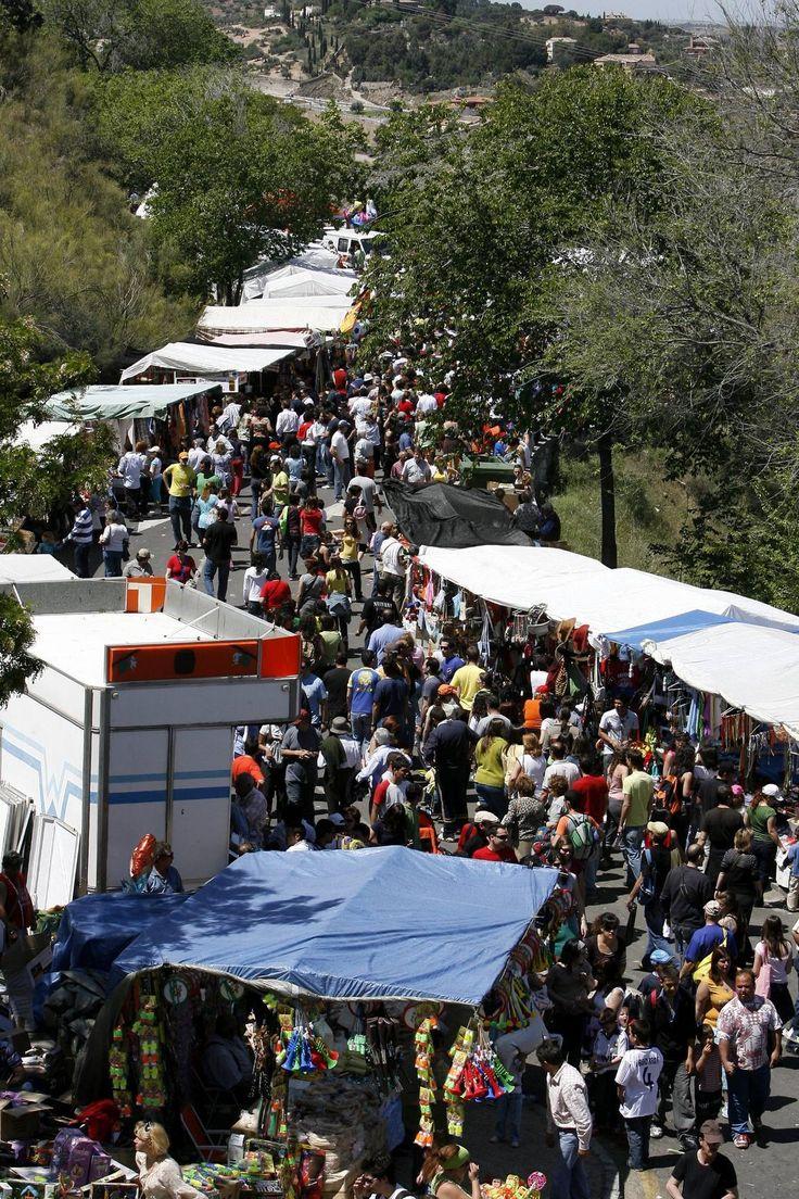 La romeria del valle .Las imágenes del otro Toledo - Toledo - ABC.es