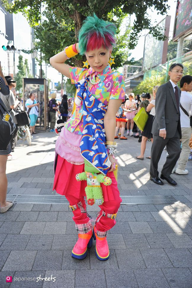 130929 0166 Japanese Street Fashion In Harajuku Tokyo Fashion Japanese Pinterest Mode