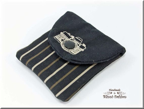 Tasche für Kamera-Zubehör Kameratasche schwarz von BlinniFashion