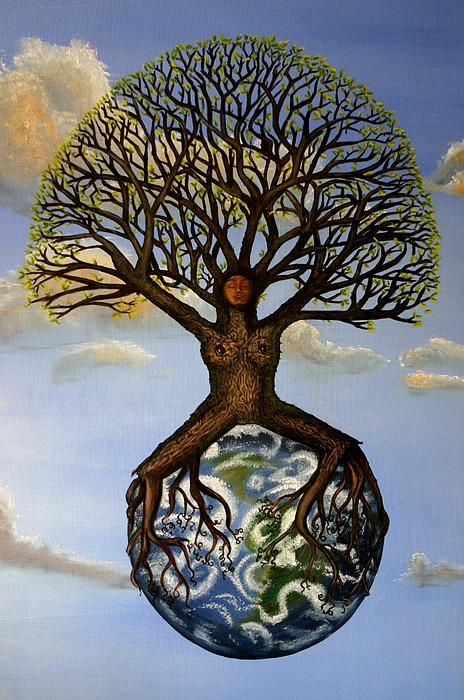Mother Nature Mother Earth by Shawna Dockery