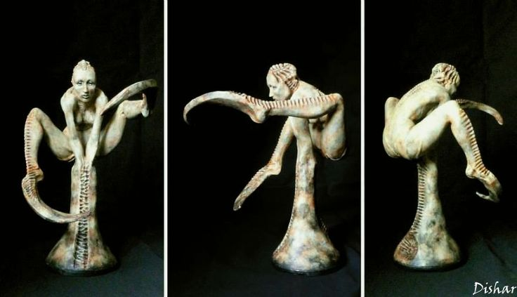 Unreal Eerie Sculpts By Polish Artist Are Like The Next H. R. Giger Generation | Bored Panda