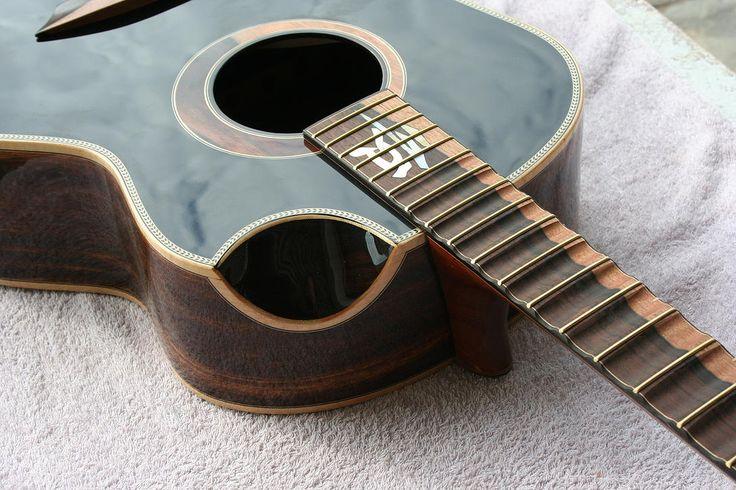 Jeffrey Yong Guitars scalloped fretboard acoustic ...