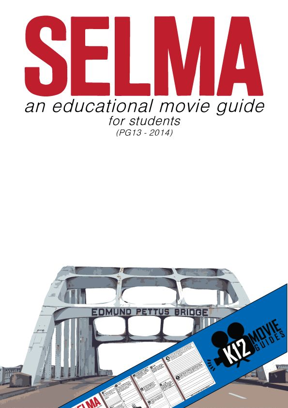 Selma does a fantastic job exposing students to the emotion, strategy, leadership, and terror demonstrated in Selma during 1965. This movie guide will help guide your students through the big issues and help them internalize the lessons that can be learned from history. Discuss with your students the 11 high-level short answer and essay questions …