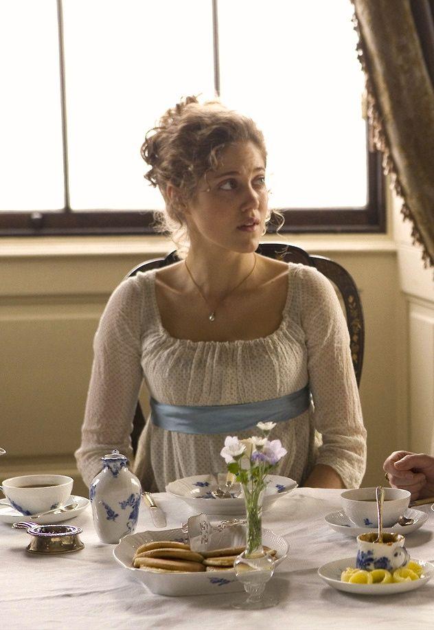 Charity Wakefield as Marianne Dashwood inSense and Sensibility (TV Mini-Series, 2008).