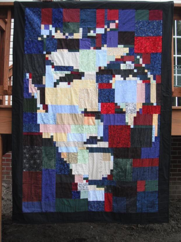 58 best Geek Quilts images on Pinterest   Quilt patterns, Applique ... : great quilts - Adamdwight.com