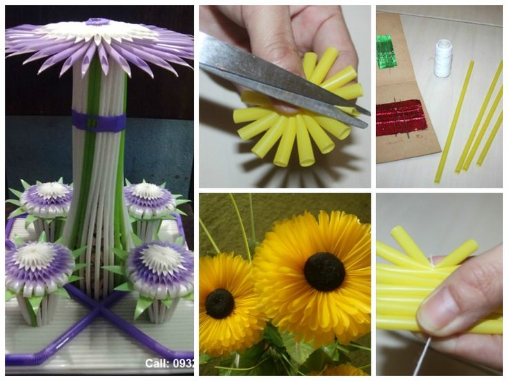 how to make a house out of drinking straws