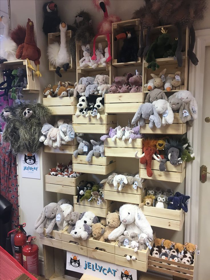 Our new Jellycat stand has had a facelift.  Mymagpiesnest.com