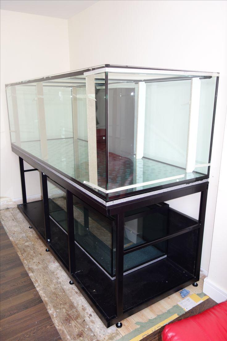 Aquarium fish tank manufacturers - Build On Site Tropical Setup Size With Metal Frame And Size Sump Tank Prime Aquariums Ltd Your Custom Fish Tank Manufacturer In The Uk