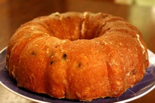 Eggnog Pound Cake. A friend recommended this recipe. What a yummy treat. Can't eat just one piece.
