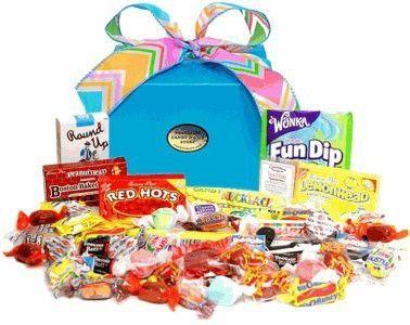 Box of Cheer Nostalgic Candy Gift Box