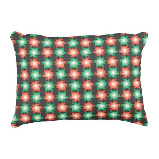 Funny Flowers Legs Pattern Accent Pillow