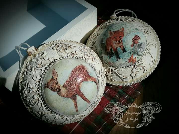 #decoupage ##baubles