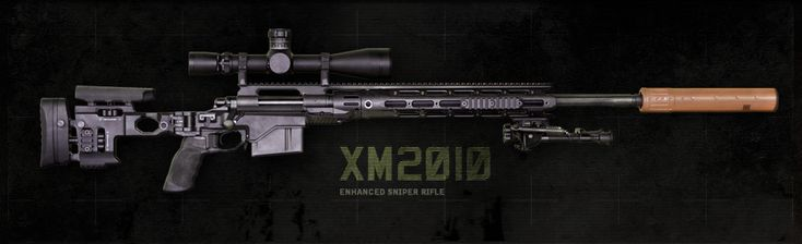 The XM2010 was designed and developed specifically for the sustained harsh environment of the modern battlefield using state-of-the-art technology, manufacturing processes, and corrosion resistant materials. As an upgrade to the combat proven M24 Sniper Weapon System, the XM2010 is chambered in 300 Win Mag for extended effective range using the M24 700 action, and has proven out-of-the-box 1 MOA accuracy.