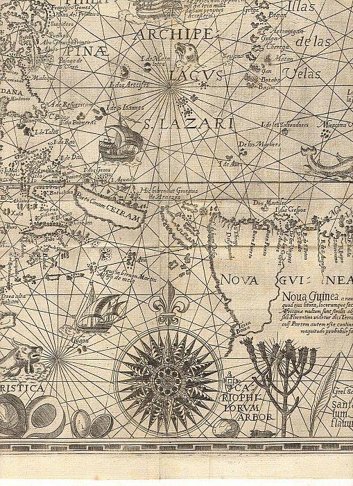 Spice Islands 8. Древние карты мира в высоком разрешении - Старинные карты