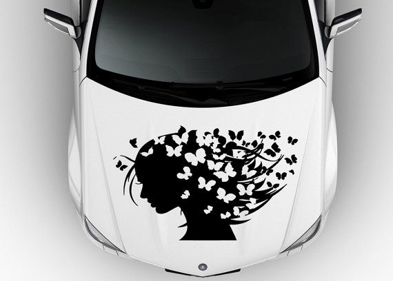 Best Car Hood Sticker Images On Pinterest Hoods Sticker And - Best automobile graphics and patternsbest stickers on the car hood images on pinterest cars hoods