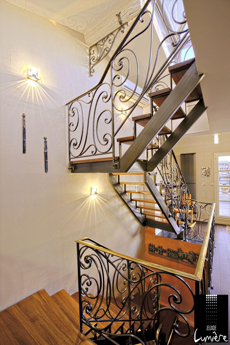 25 best images about eclairage couloir et escalier on for Appliques murales habitat