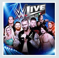 2017 - WWE – Wrestling Live  – Nov. 20 Assago; Nov. 11 Padova; Nov. 12 Florence; tickets are available in Vicenza at Media World, Palladio Shopping Center, or online at www.ticketone.it and www.geticket.it.