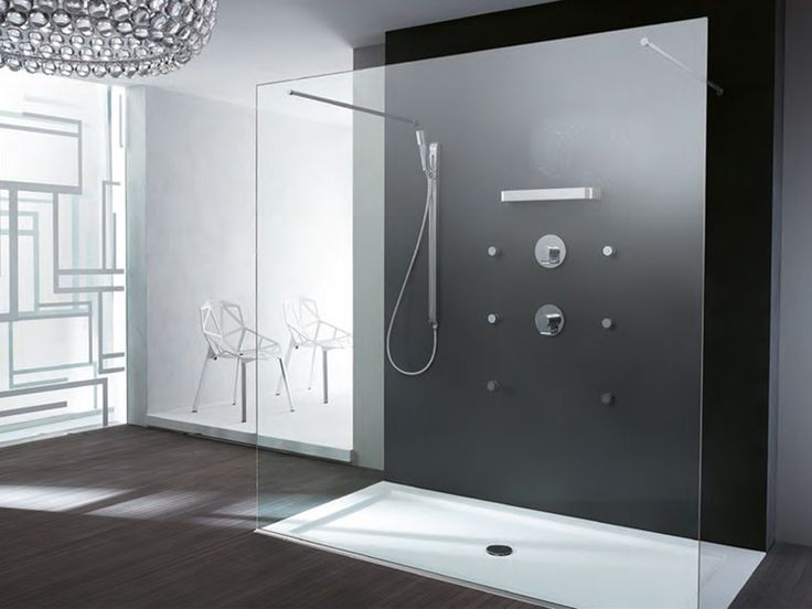 Cabine de douche rectangulaire en cristal ENDLESS by TEUCO
