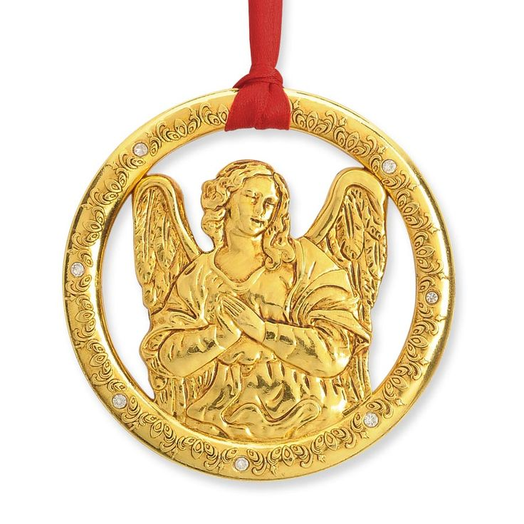 Vatican Christmas Ornaments Part - 19:  Design Inspired By Vatican Artist Lorenzo Berniniu0027s Kneeling Angel In St.  Peteru0027s Basilica, Chapel Of The Blessed Sacrament.