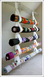 A way to store quilts