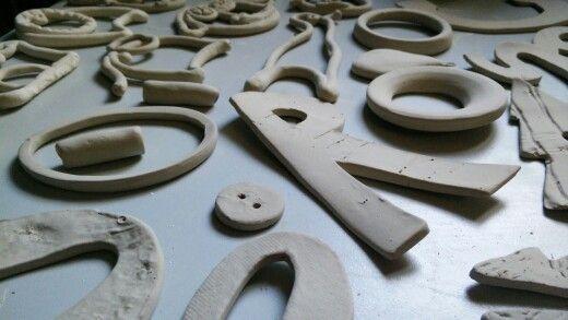 #lettere in #argilla