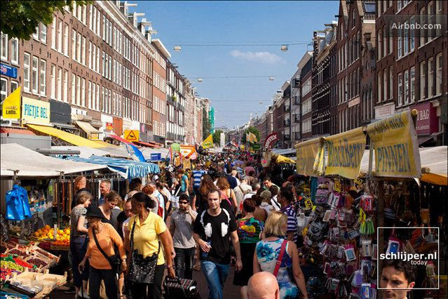 Albert Cuyp Market - 300 stalls which sell everything from fruit, vegetables, cheese, fish and spices to clothes, cosmetics, gadgets and bedding.