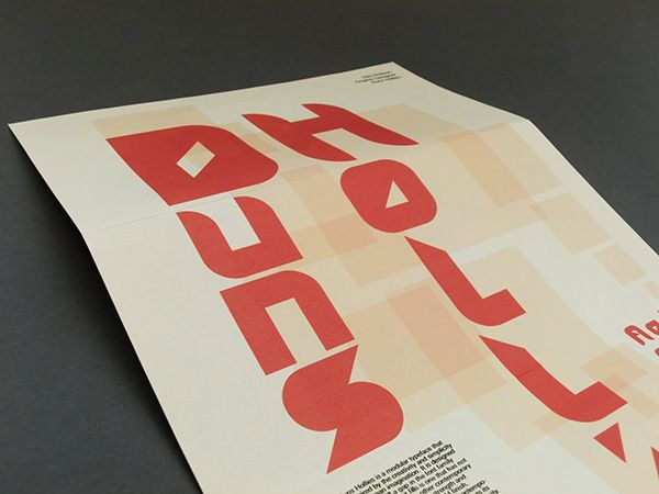 The aim of this project was to create a modular typeface that is developed using…