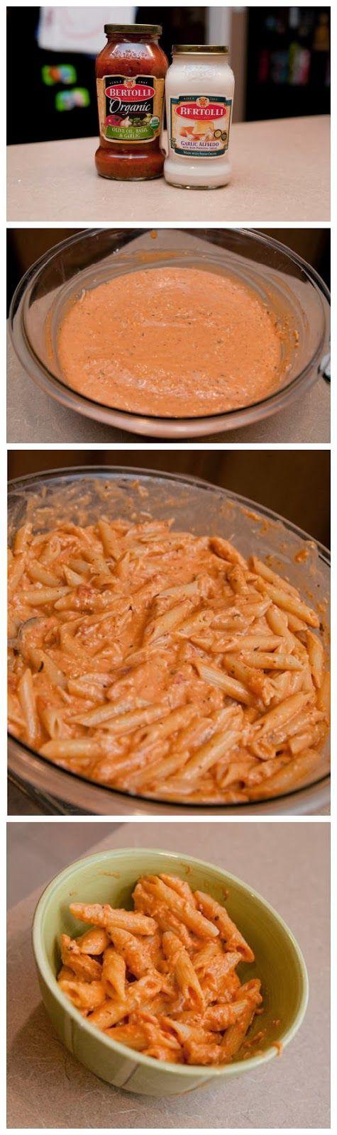 Two Timin' Pasta - Add Mozzarella
