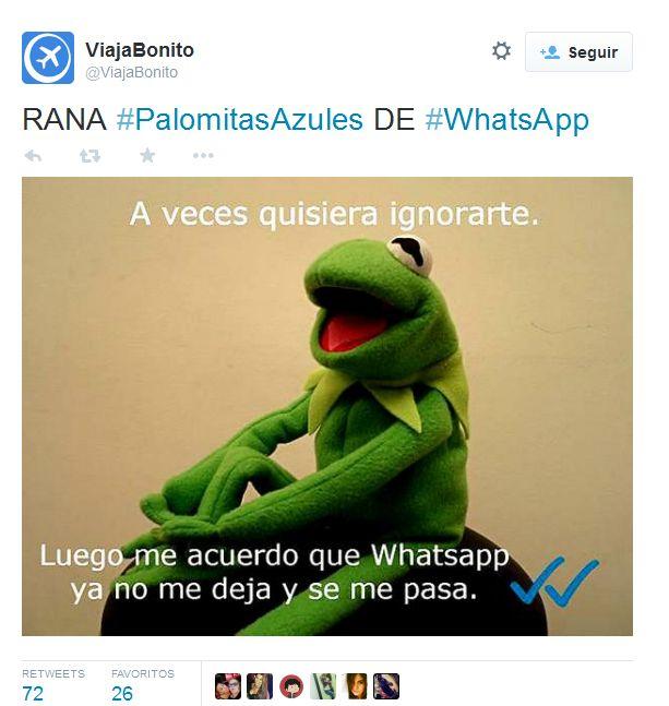 Doble check azul de WhatsApp: qué es, cómo evitarlo...y un poco de humor   #SinVueltaDeHoja