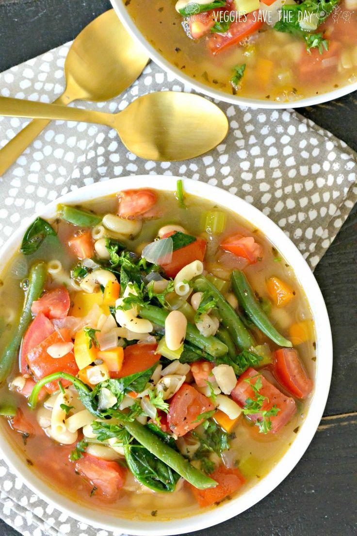 15 Delicious Minestrone Soup Recipes: Vegan Minestrone Soup