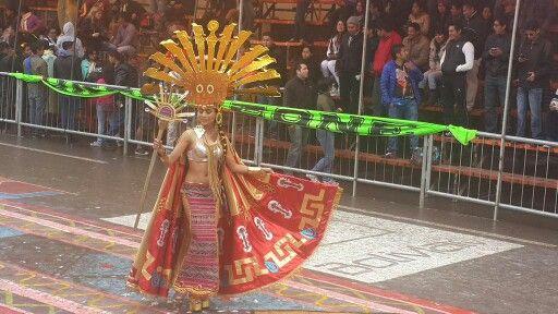 Baile de los Incas, #CarnavaldeOruro