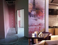 """Before and After - """"Terra Cafe & Lounge"""" by Square2Design , via Behance"""