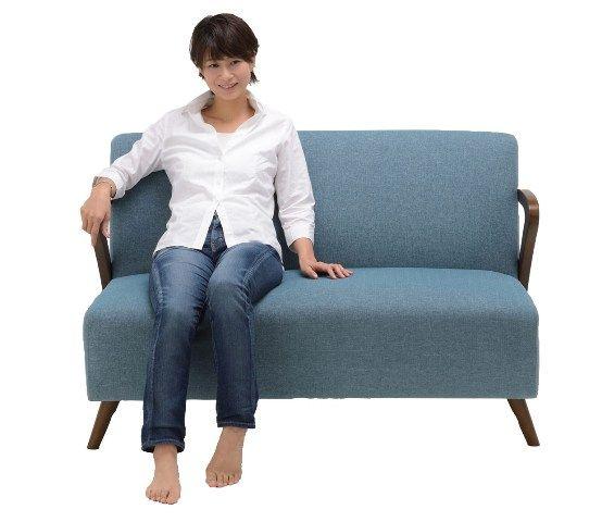 8581Bソファ 2人掛け グリーン 通販|インテリア・家具のノーチェ