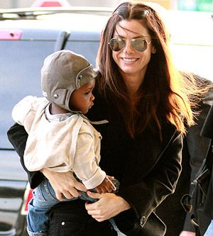 Actress Sandra Bullock adopted her son Louis Bardo in early 2010.