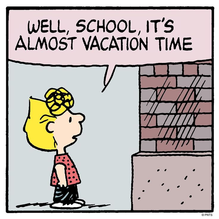 It S Almost Summer Vacation Peanuts Charlie Brown Peanuts Snoopy School Peanuts Gang