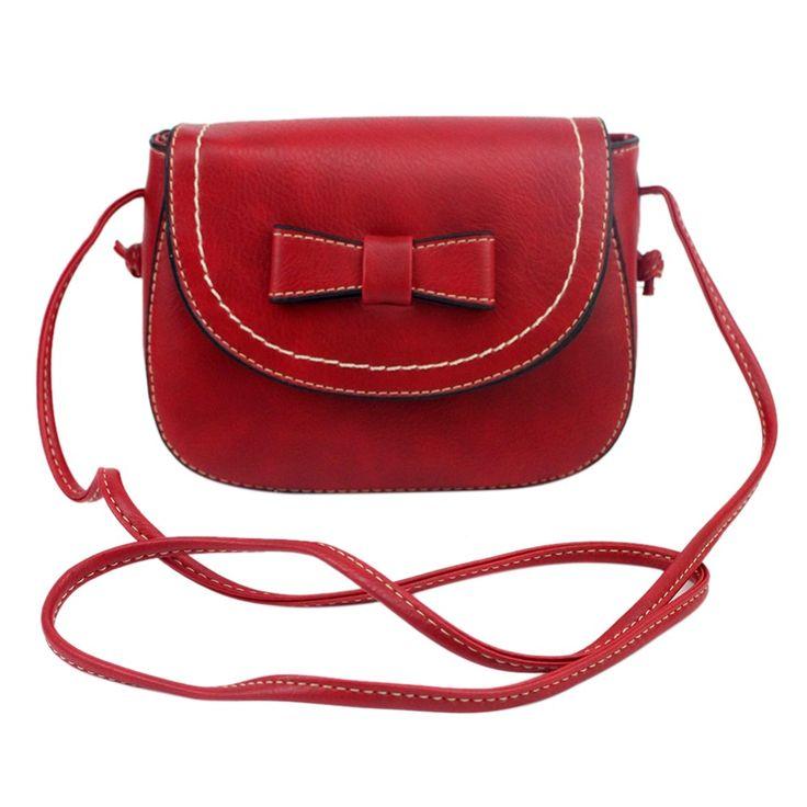 2017 Women Fashion Pu Leather Satchel Bowknot Messenger Bags Shoulder Bag  Cross Body Handbags bolsa feminina ff41da8e8b3f1