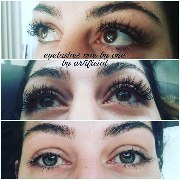 Eyelashes extensions one by one https://www.facebook.com/artificialnails1/