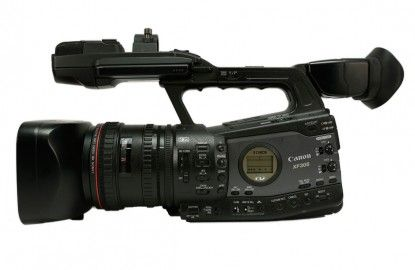 Canon XF-305 HD Camera  Small and compact - also uses CF Cards too!