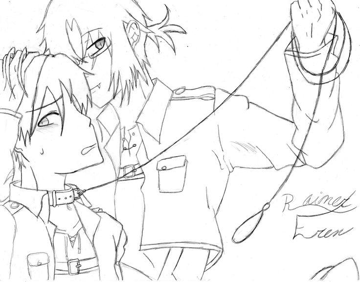 RainerxEren my Gender Bender (Yaoi) I drew it