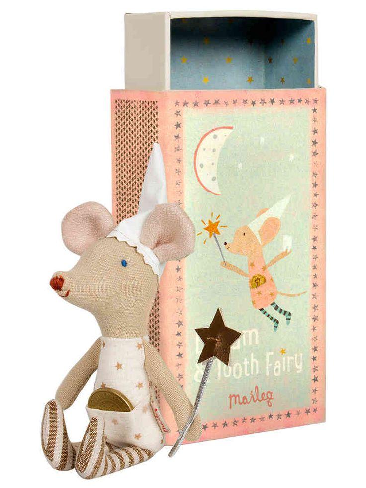 Hammaskeijuhiiri ja rasia, vaaleanpunainen, Maileg - Emma's & Mama's shop -  Näihin on pienokaisen hampaat ihana tallettaa ja toivoa kolikoita