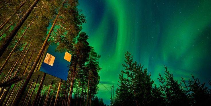 La Laponia finlandesa, Noruega, Suecia, Canadá, Alaska o Islandia son algunos de los países testigos de este espectáculo natural