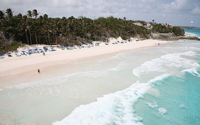 Crane Beach..located along the South East coast of Barbados